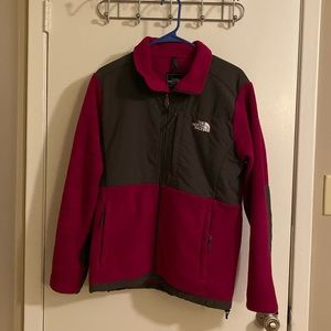 Women's Magenta North Face Jacket